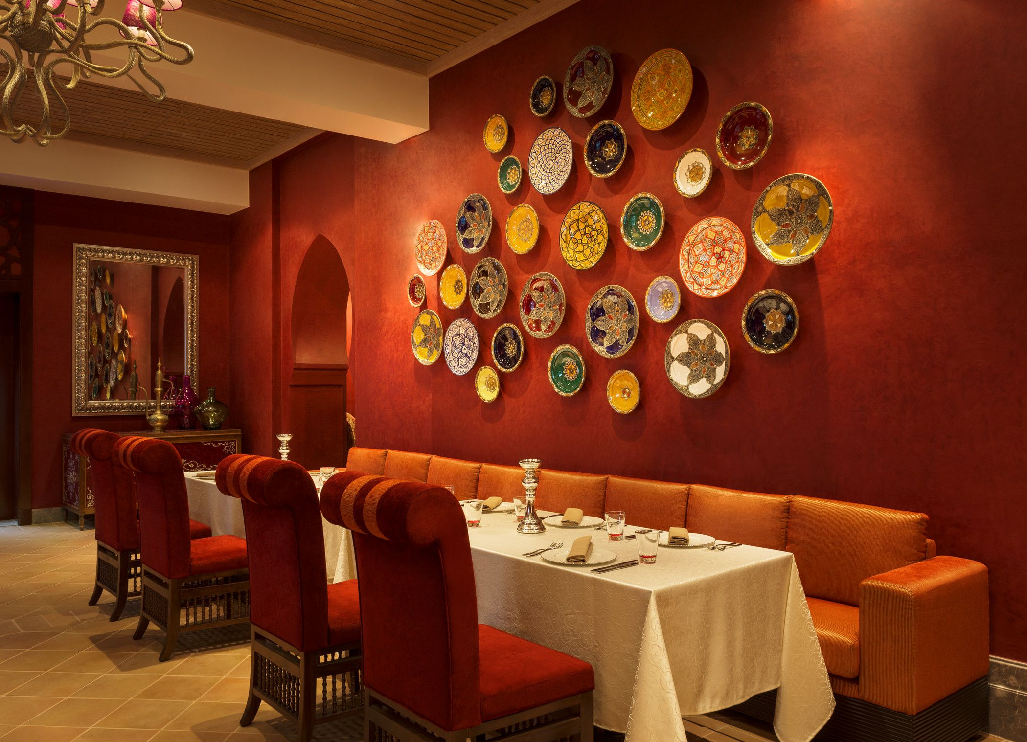 The Laid Back Style Of This A La Carte Dining Venue Sets Scene For Contemporary Arabic Cuisine